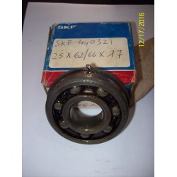 CUSCINETTO A SFERA SKF 440321 25X62/66X17