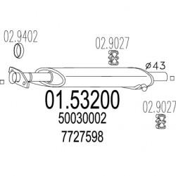 CENTRALE FIAT TIPO TEMPRA 1.4 - 1.4 i.e - 1.6