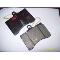 PASTIGLIE ANTERIORI FIAT 242 - CITROEN C35 / 5530829