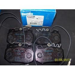 PASTIGLIE ANTERIORI CITROEN VISA - ZX - C15 - AX GTi / 95647733 - 95659353