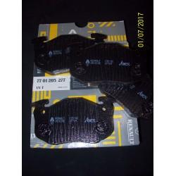 PASTIGLIE ANTERIORI RENAULT 5 - CLIO I - TWINGO / 7701205277
