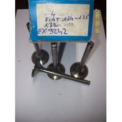 VALVOLE SCARICO FIAT 124 125 131 132 LANCIA BETA  / EX3242 /