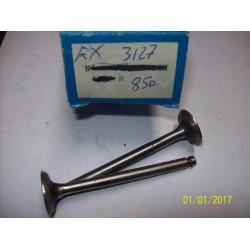 VALVOLE SCARICO FIAT 850 / EX3127 / 26X7X95