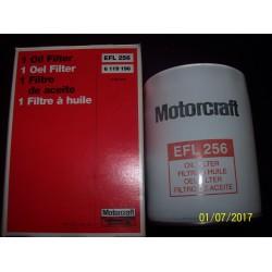 FILTRO OLIO ORIGINALE EFL256 FORD FIESTA IV FOCUS TRANSIT 1.8 TDDI TDCI - 6119196