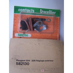 PUNTINE PLATINATE PEUGEOT 304 - 305 / DUCELLIER 582130