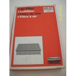 FILTRO ARIA ORIGINALE FORD ESCORT IV ORION II 1.6 i / 6178411 - EFA487 - 5029853 -
