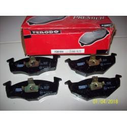 PASTIGLIE FRENO SEAT VW - FERODO FDB1054 - VWA21866 - 1H0698151A
