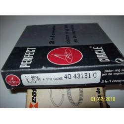 KIT FASCE PER UN PISTONE MERCEDES W115 W123 S123 T2/L - 40431310 -A0030302424-0030302424