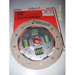 DISCO FRIZIONE FORD ESCORT II 1.11.3- MOTORCRAFT ECD115 -5020833-1563563-1583403-5004724-5023449-5023748-6020818-6028725-6035687