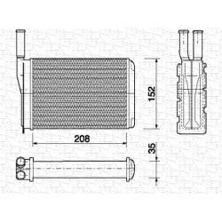 RADIATORE RISCALDAMENTO RENAULT SUPER 5 - T661R - MARELLI BR154 - 7701027040 - 7701027078