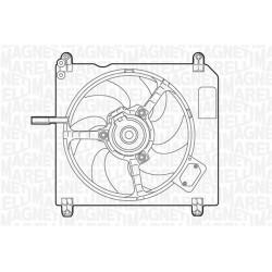 ELETTROVENTOLA FIAT BRAVO BRAVA 1.4 - MAGNETI MARELLI MTC005AX - 7787852
