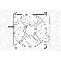 ELETTROVENTOLA FIAT MAREA 1.4 80 12V - MAGNETI MARELLI MTC007AX - 46472586
