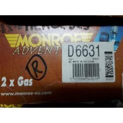 AMMORTIZZATORI POSTERIORI MERCEDES CLASSE G W460 - MONROE D6631 - 33260300 - 33261200