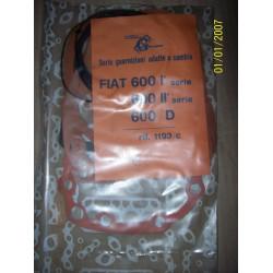 SERIE GUARNIZIONI CAMBIO FIAT 600 I II  - 600 D