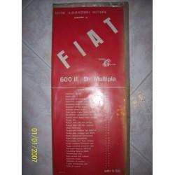 SERIE MOTORE FIAT 600 II / D / MULTIPLA