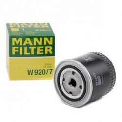 FILTRO OLIO CAMBIO MANUALE AUTOMATICO MANN W920/7 - MANN FILTER W920/7