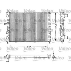 RADIATORE RAFFREDDAMENTO FIAT BRAVO 1.8 GT 2.0 HGT MAREA ORIGINALE VALEO 731303 - VALEO RM115 - 46400850 - 46736953