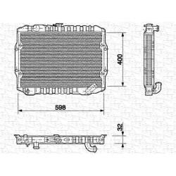 RADIATORE RAFFREDDAMENTO MITSUBISHI L200 ORIGINALE MAGNETI MARELLI BM549 - MB356390 - MB356389