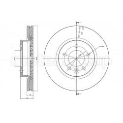 DISCO FRENO LANDROVER DISCOVERY III IV RANGE ROVER SPORT - CIFAM 800-933C - SDB000603 - METELLI 230933C - SDB000602